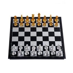 Schack Set - Gyllene Pjäser 32x32cm