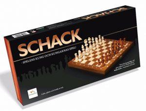 Schack i Trä 40x40 cm