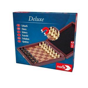 Deluxe Magnetiskt Schack i Trälåda